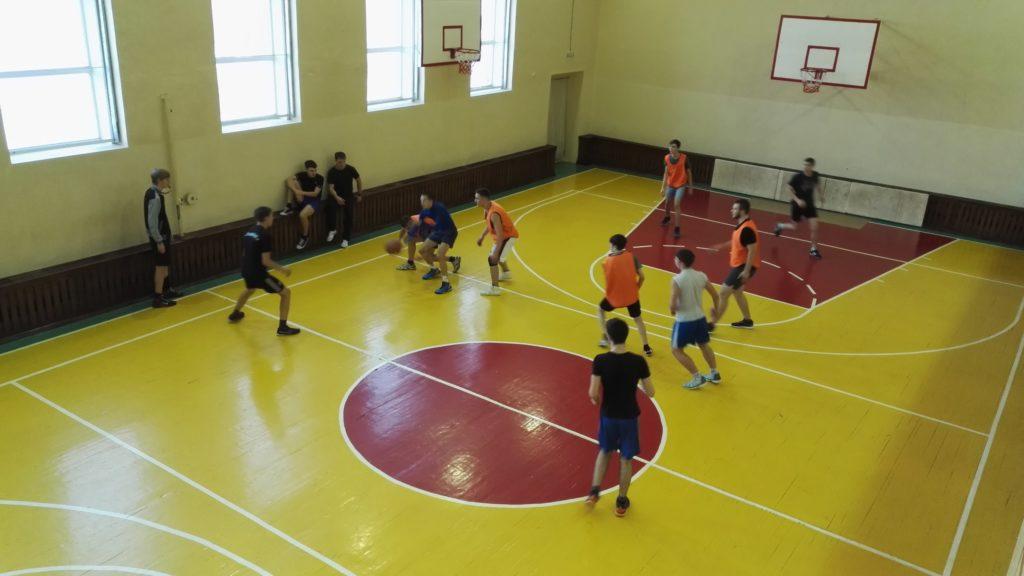 Первенство по баскетболу ЮТК