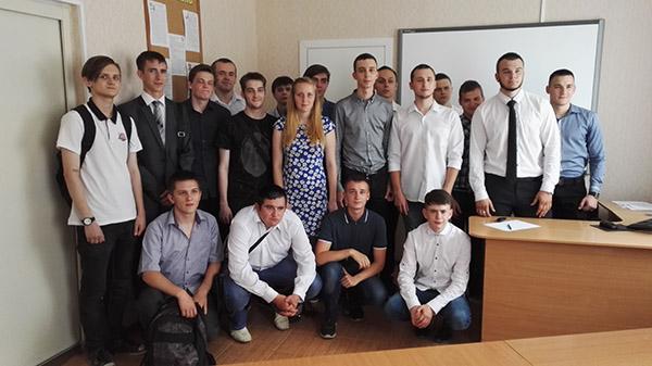 Группа 953 после защиты дипломов