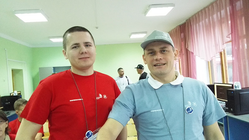 Участники чемпионата Молодые профессионалы-2017