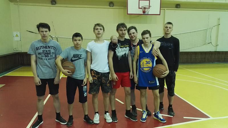 Сборная группы 957 по баскетболу