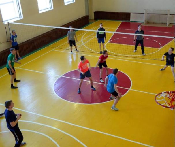 Жеребьёвка первенства колледжа по волейболу среди юношей